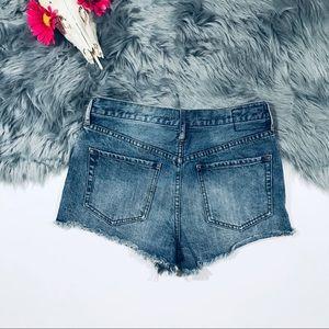 Free People Shorts - Free People High Waisted Cutoff Denim Shorts